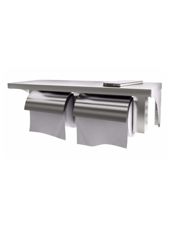 EPH 06P Twin Toilet Paper Holder