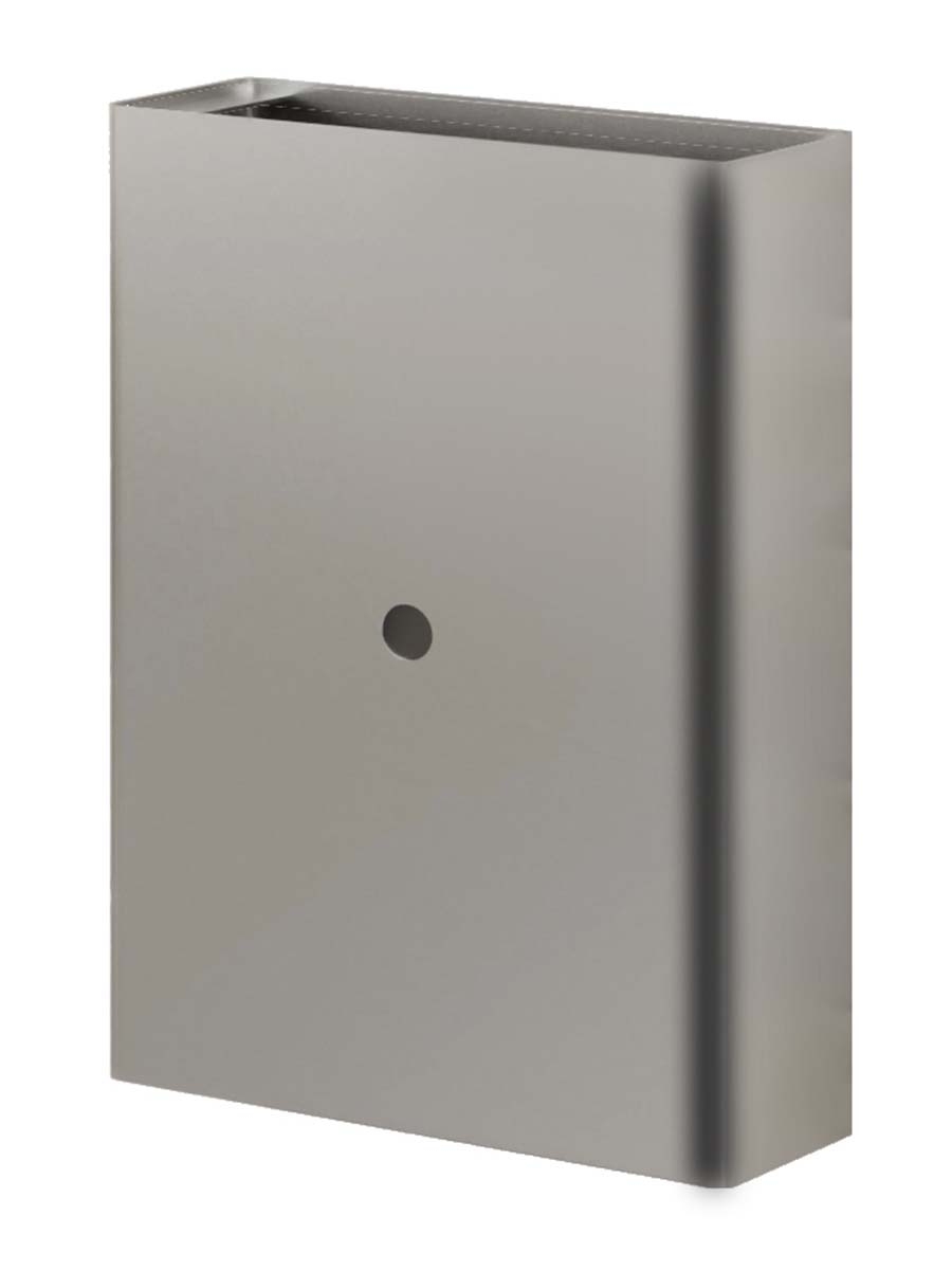 euronics steel waste receptacle