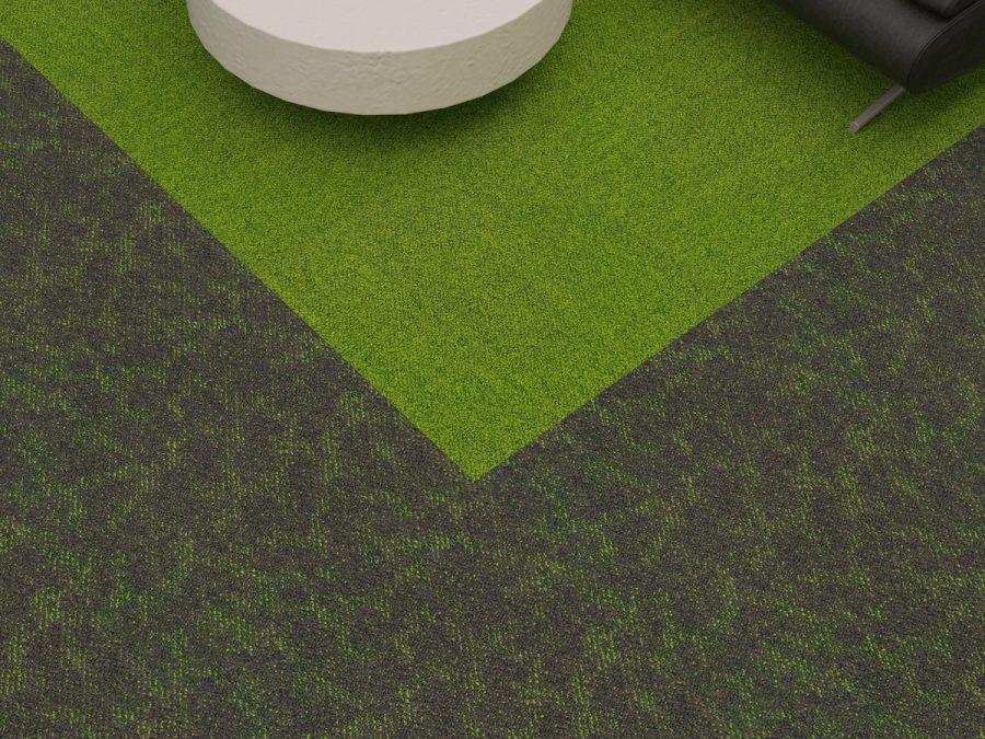 illusion carpet tile